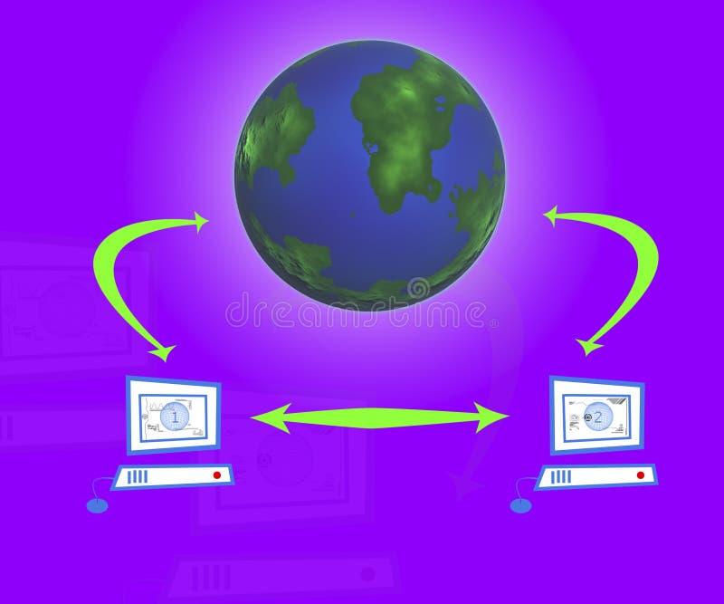 Download The Internet stock illustration. Illustration of europe - 1336334