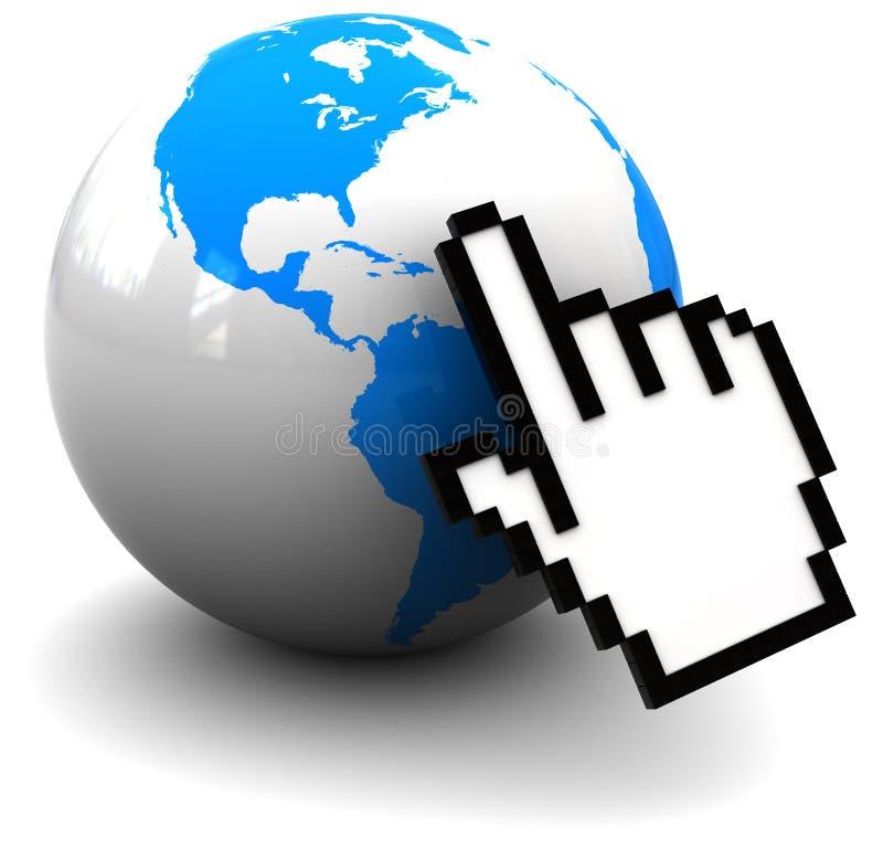 Internet stock abbildung