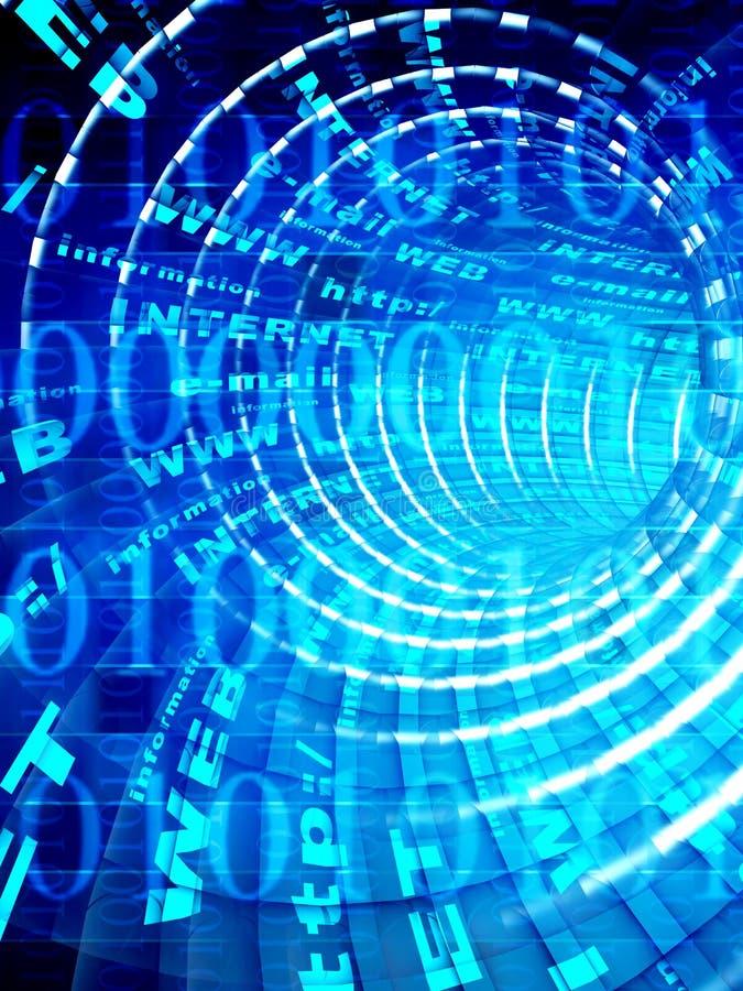 Internet vektor abbildung