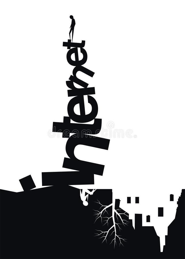 Download Internet stock vector. Image of tower, babel, woman, relationships - 27669120