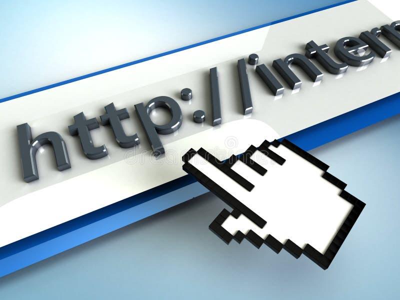 Internet illustrazione vettoriale