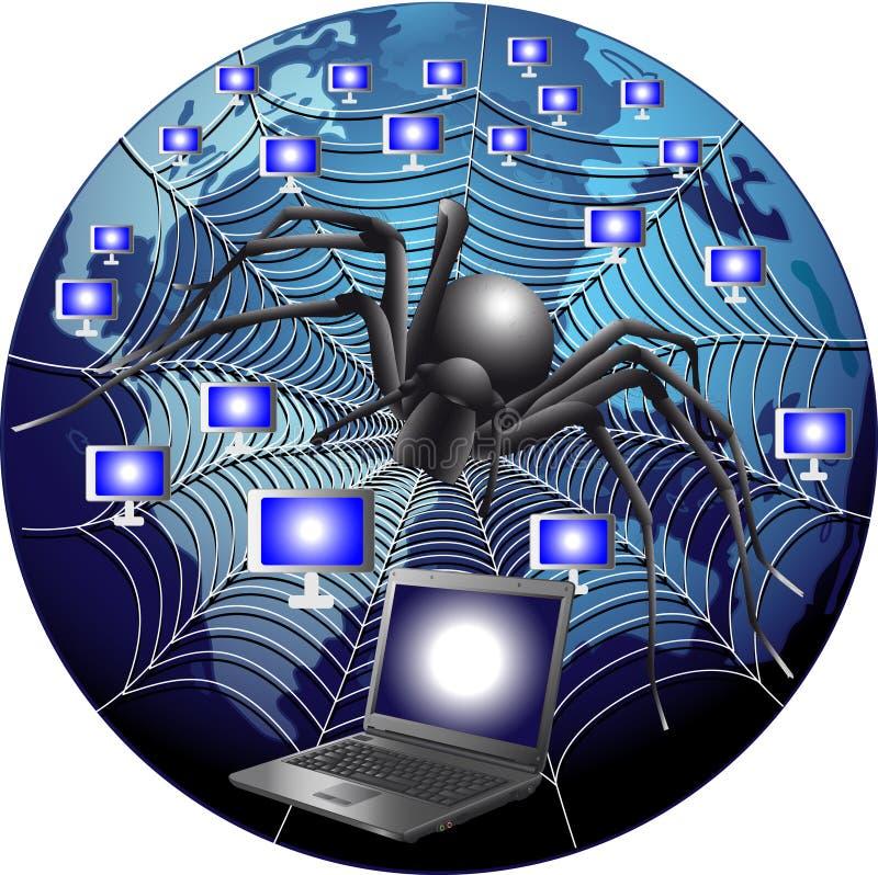 Internet royalty ilustracja