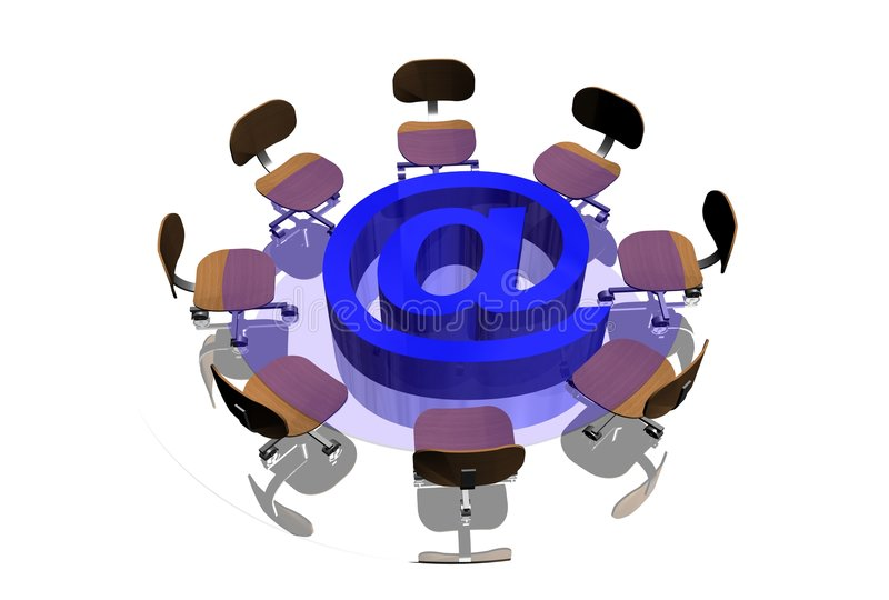 Download Internet stock illustration. Illustration of discussion - 3776206