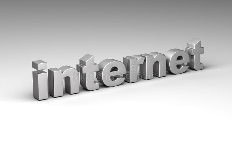 Internet stock de ilustración