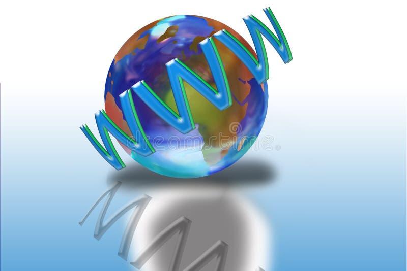 Internet vector illustratie