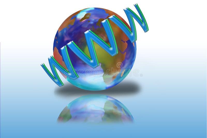 Internet stock illustratie