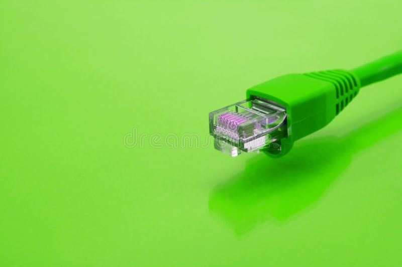 Download Green Ethernet Cable Stock Photo - Image: 6414260