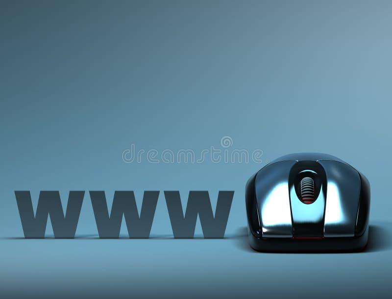 Internet ilustração royalty free