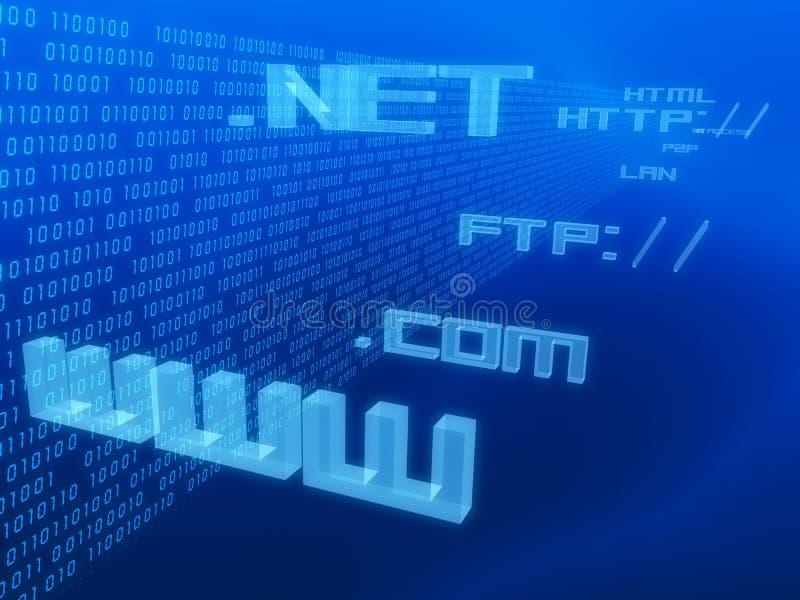 Internet-Abbildung lizenzfreie abbildung