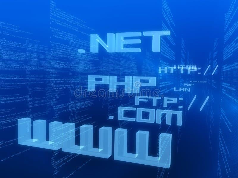 Internet-Abbildung vektor abbildung