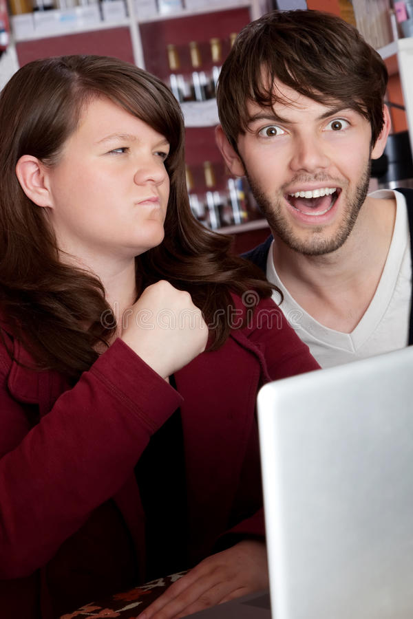 Download Internet abuse stock photo. Image of internet, coffeehouse - 14857602