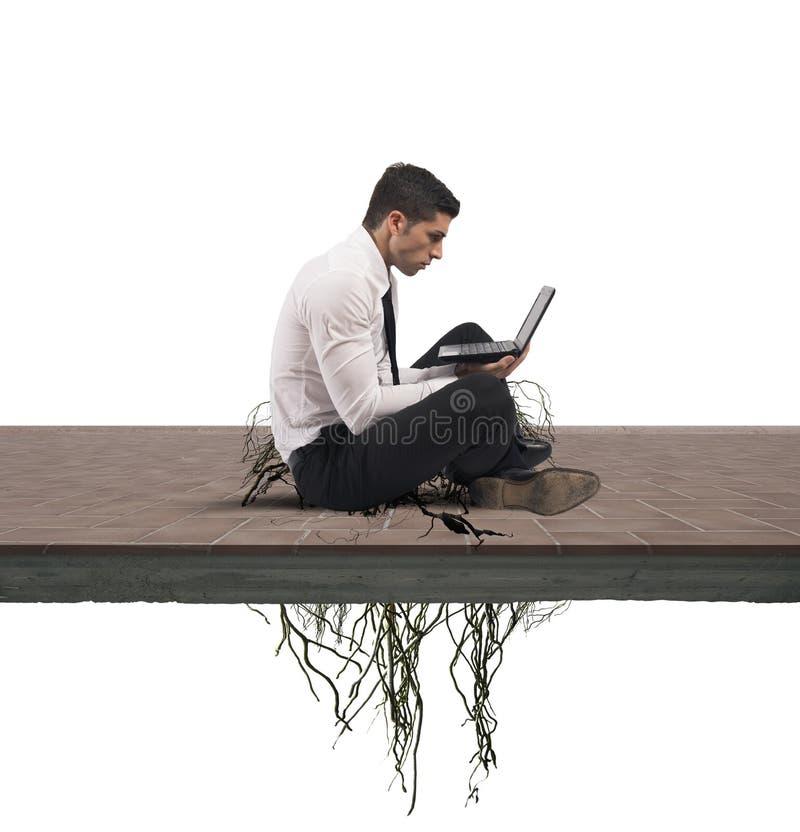 Internet addiction concept stock images