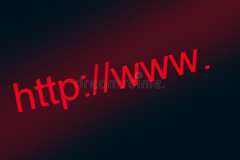 Download Internet address. stock image. Image of computer, find - 24012139