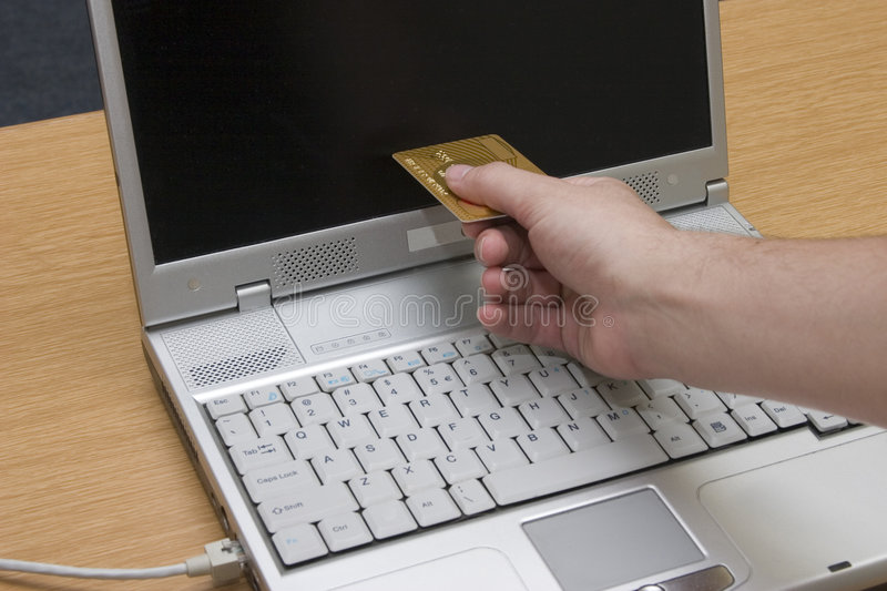 Internet banking #3 royalty free stock image