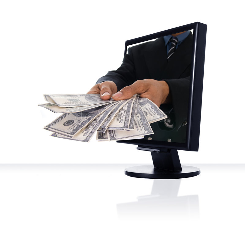 Download Internet Banking stock image. Image of fingers, exchange - 5103565