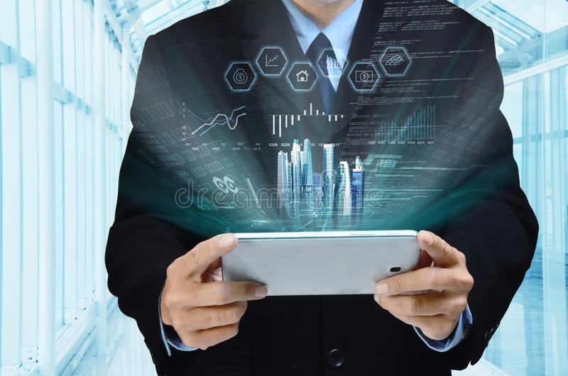 Internet Business Series stock photo
