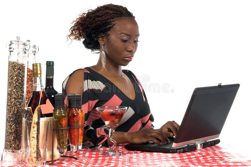 Internet Cafe stock photos