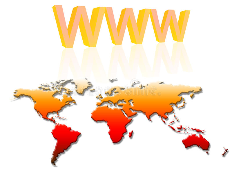 Internet concept (02) royalty free stock images