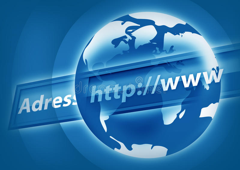 Internet Concept vector illustration
