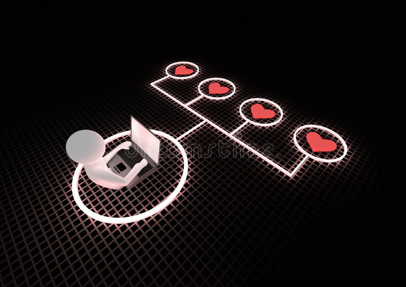 Internet concept stock illustration