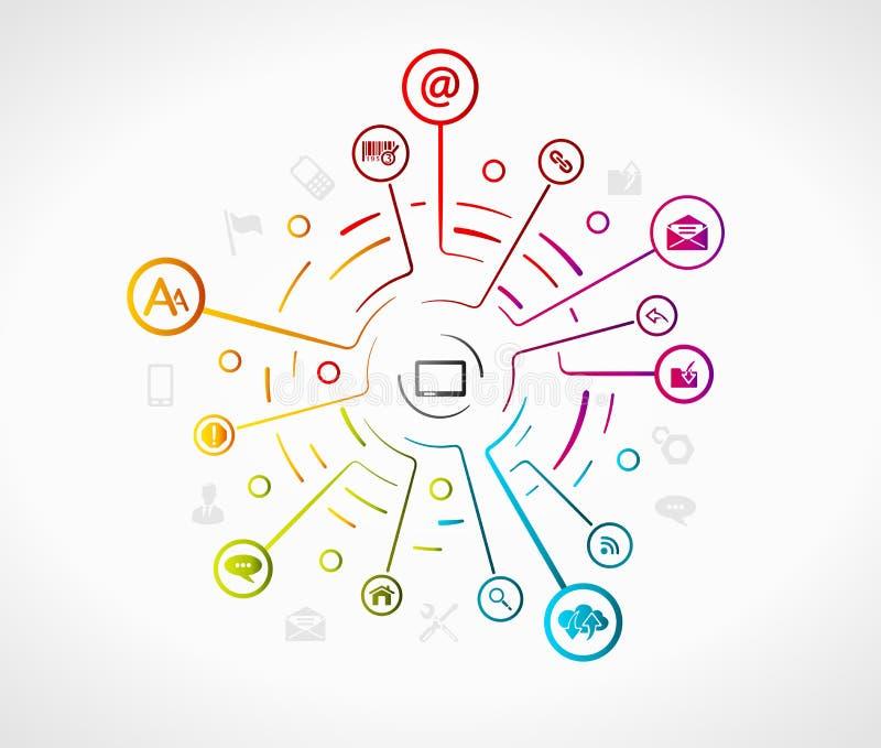 Internet stock illustration