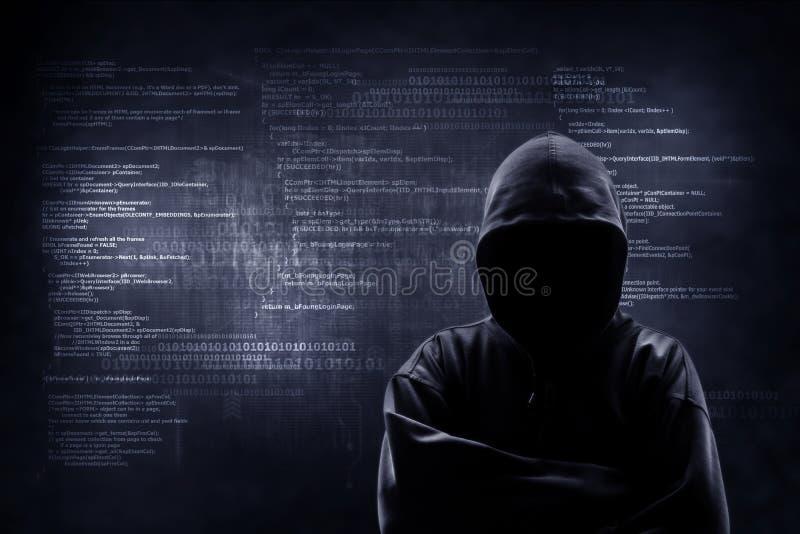 Internet crime concept. royalty free stock photos