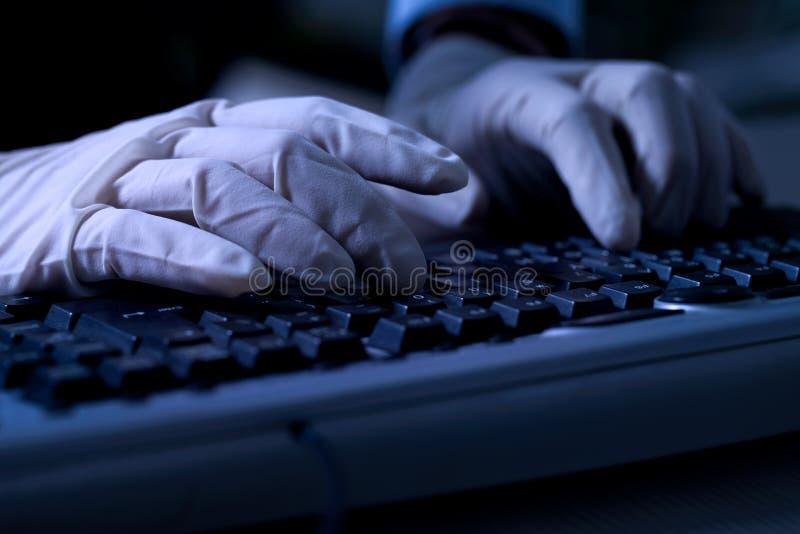 Internet Criminal Stock Images