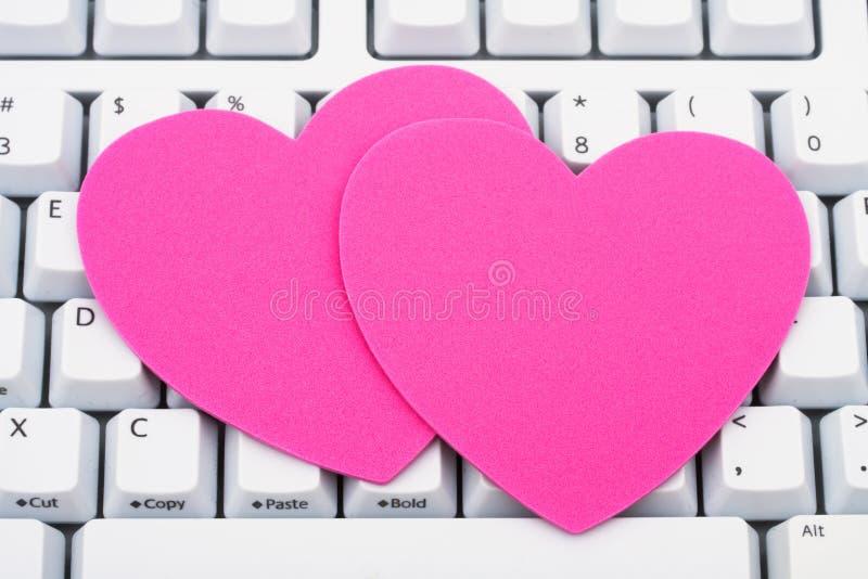Internet-Datierung lizenzfreie stockfotografie