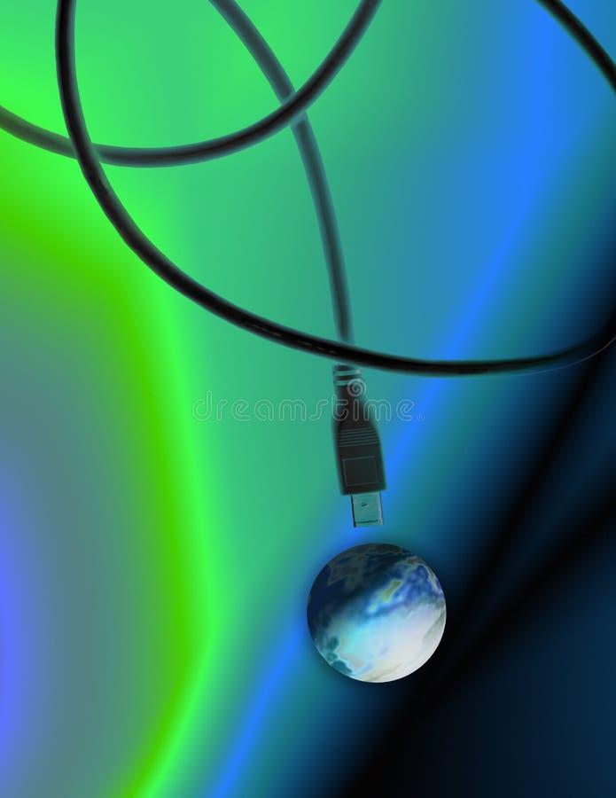 Internet de câble illustration libre de droits