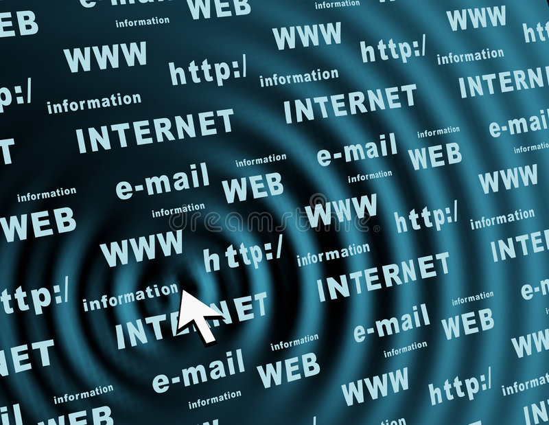 Internet de concept illustration de vecteur