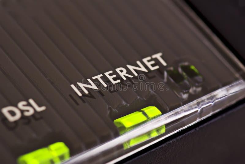 Internet de connexion images libres de droits