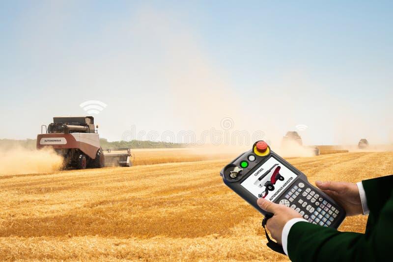 Internet de cosas en agricultura foto de archivo libre de regalías
