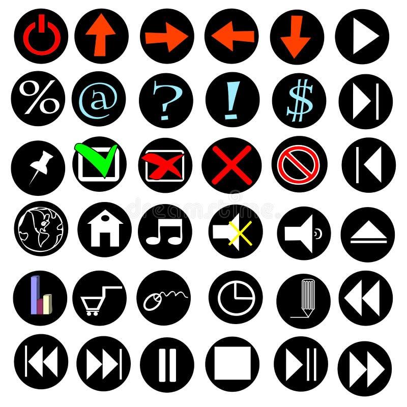 Internet delle icone royalty illustrazione gratis
