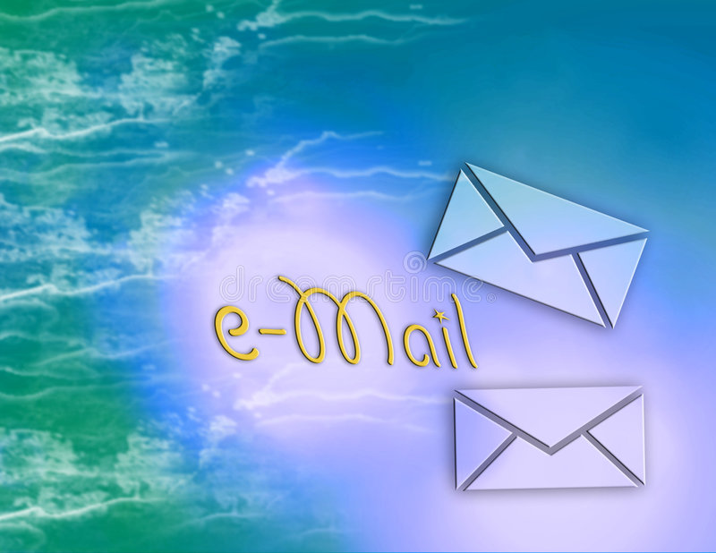 Internet e-mail royalty-vrije illustratie
