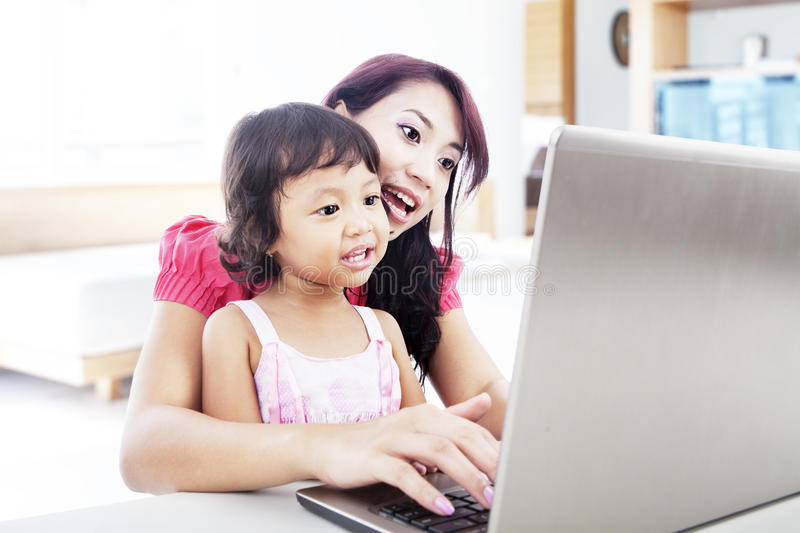 Download Internet Education For Child Stock Photo - Image: 26836598