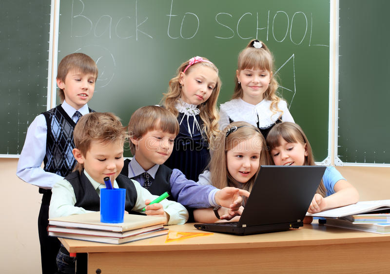 Internet education royalty free stock photo