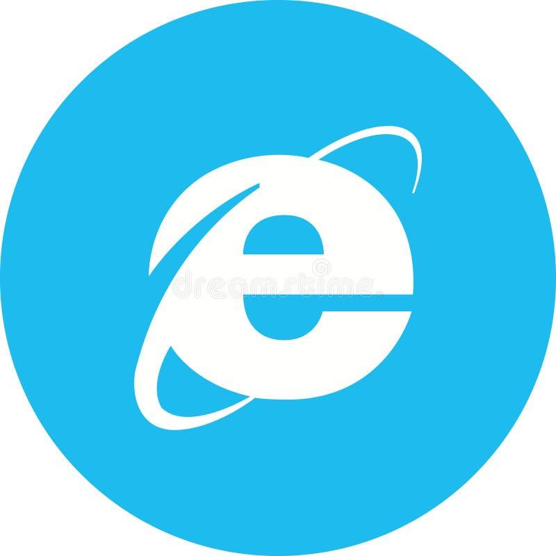 Internet Explorer ilustracja wektor