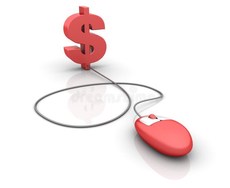 Internet-Finanzen stock abbildung