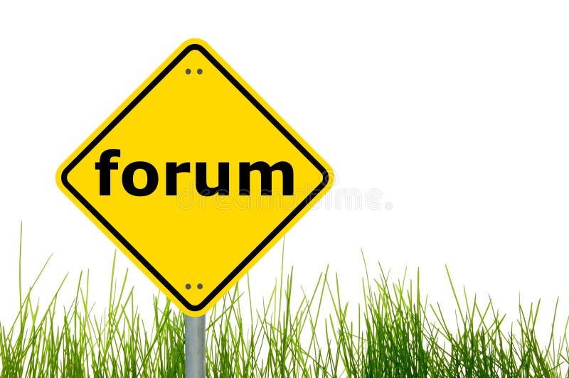 Internet-Forumkonzept stockbilder