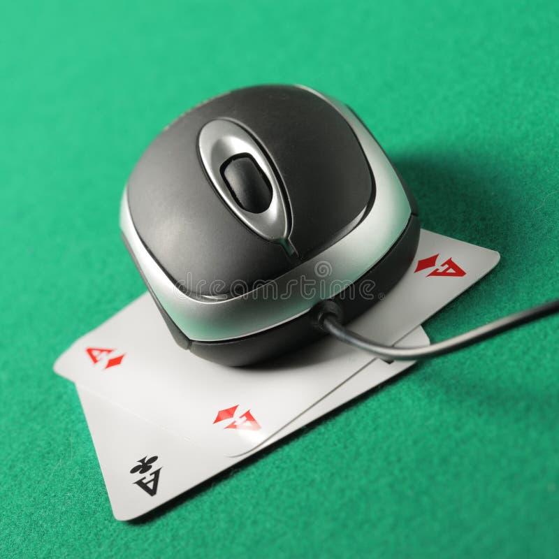 Internet Gambling Royalty Free Stock Photos