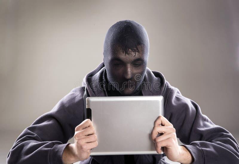 Internet-Gefahr lizenzfreie stockfotografie
