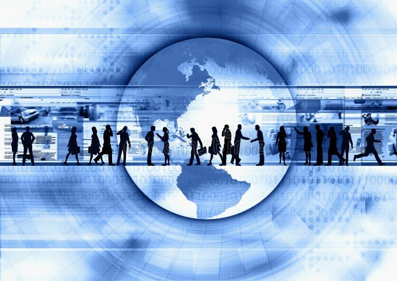 Internet-Geschäft 02 lizenzfreie abbildung