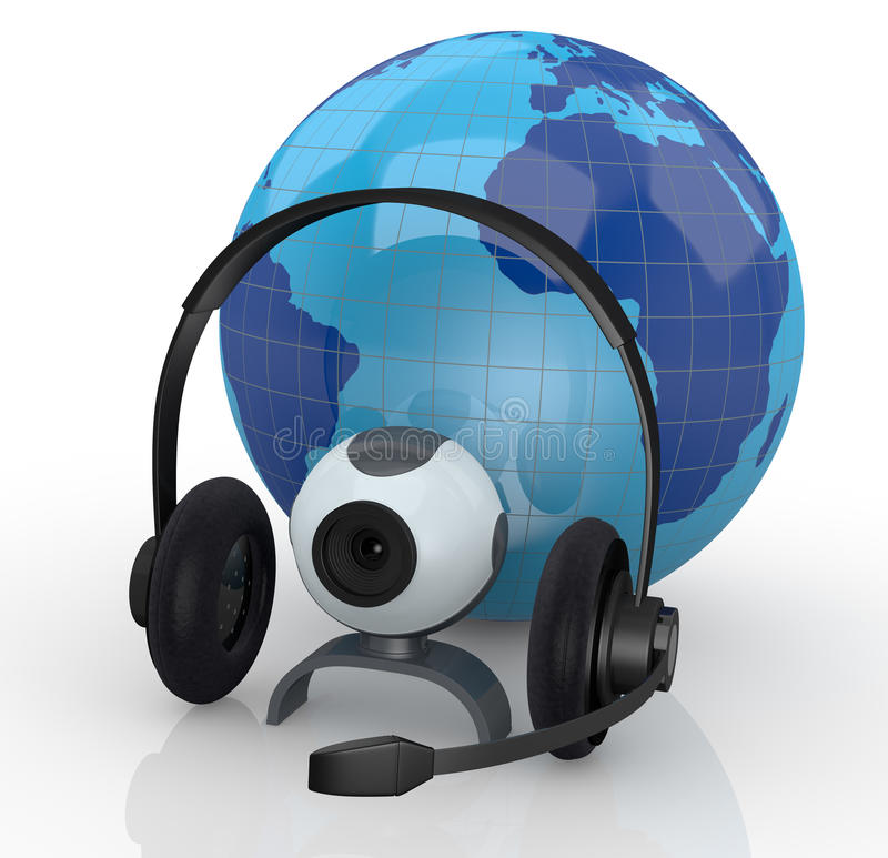 Download Internet Global Communications Stock Illustration - Image: 27007694