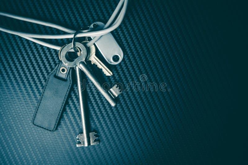 Internet-het concept van veiligheidssleutels Veiligheidsthema Naadloos patroon stock afbeeldingen