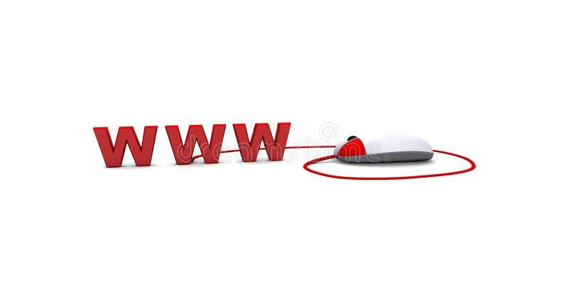 Download The Internet job stock illustration. Image of medium - 12816755