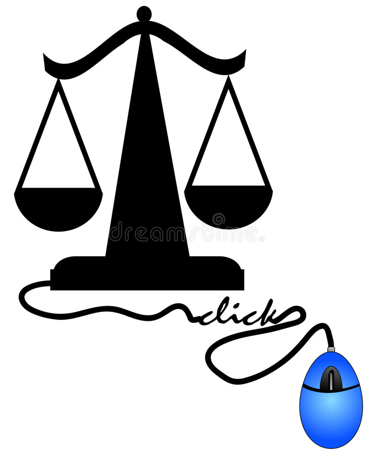 Download Internet justice stock vector. Image of trial, illustration - 6411323