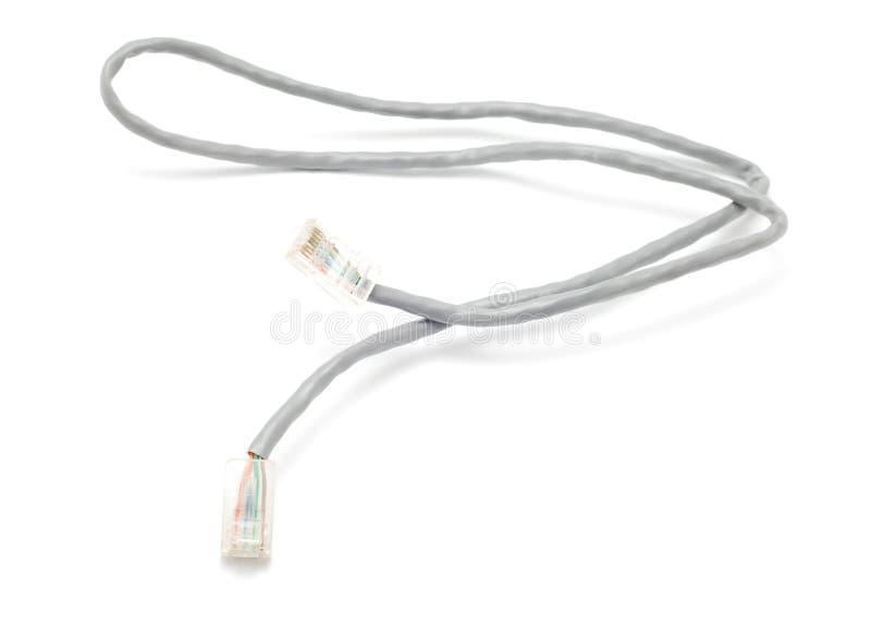 Internet-Kabel stockbilder