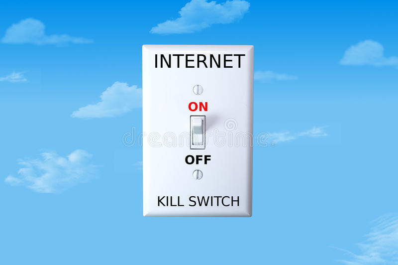 Download Internet Kill Switch stock image. Image of technology - 28361117