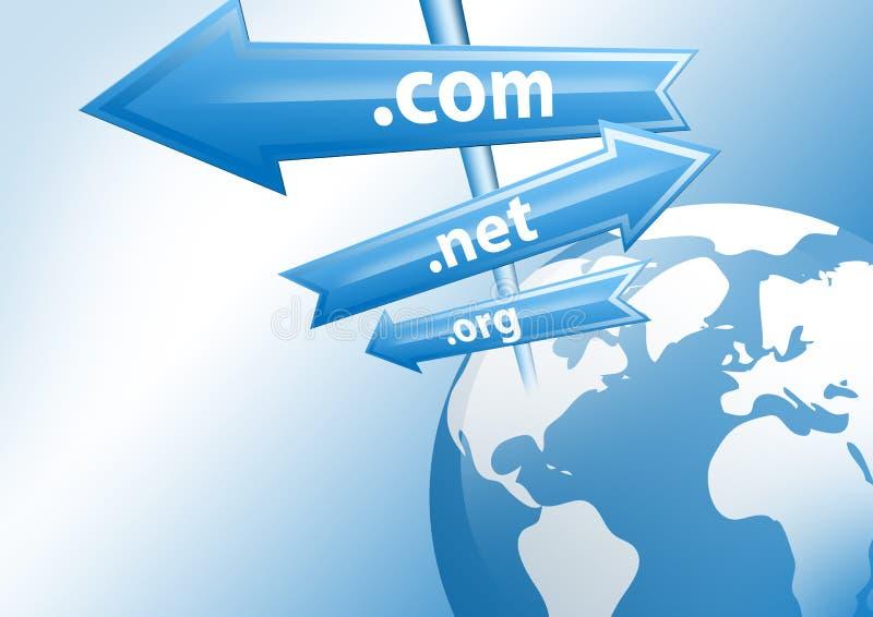 Internet-Konzept vektor abbildung