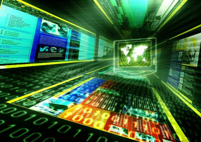 Internet-Konzept lizenzfreie stockfotografie